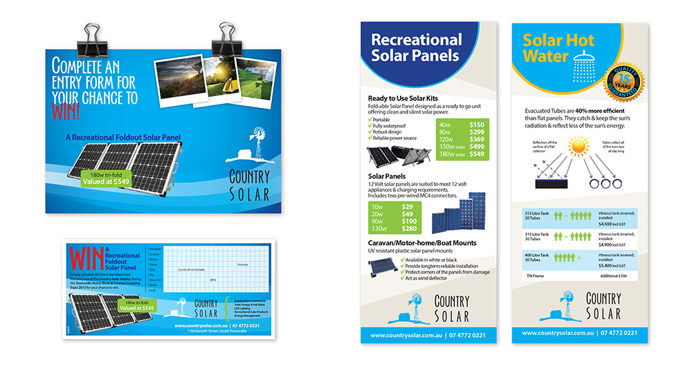 Country Solar Expo marketing material