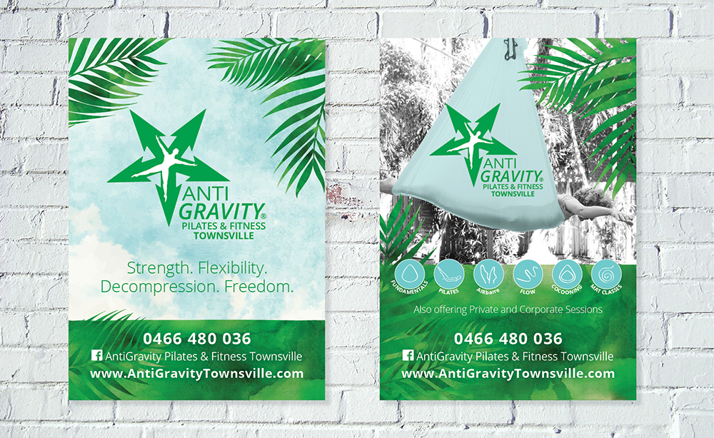 AntiGravity Fitness Posters