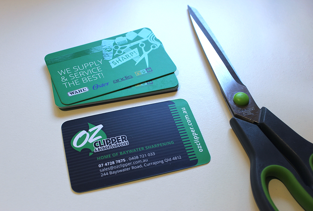 Oz Clipper Business Cards