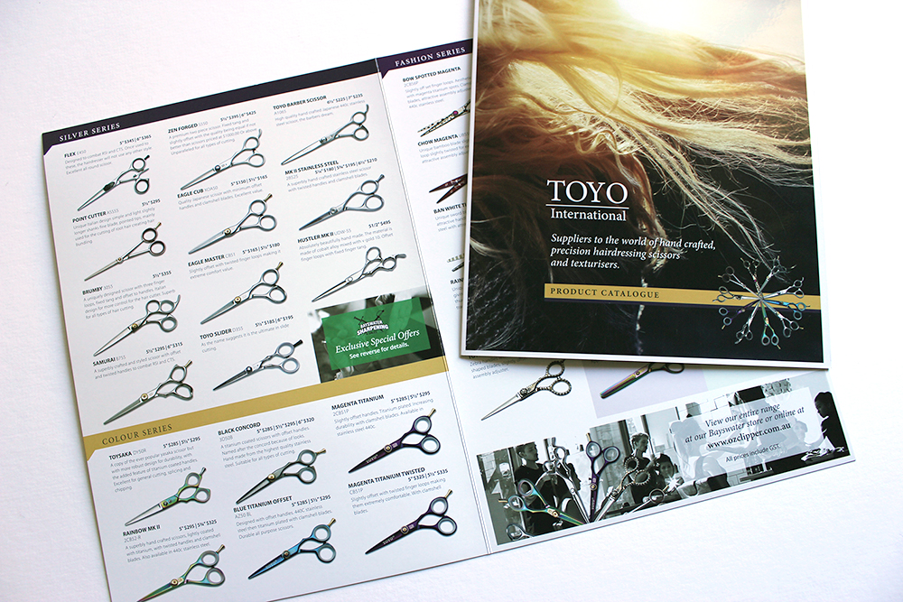Oz Clipper Toyo Catalogue