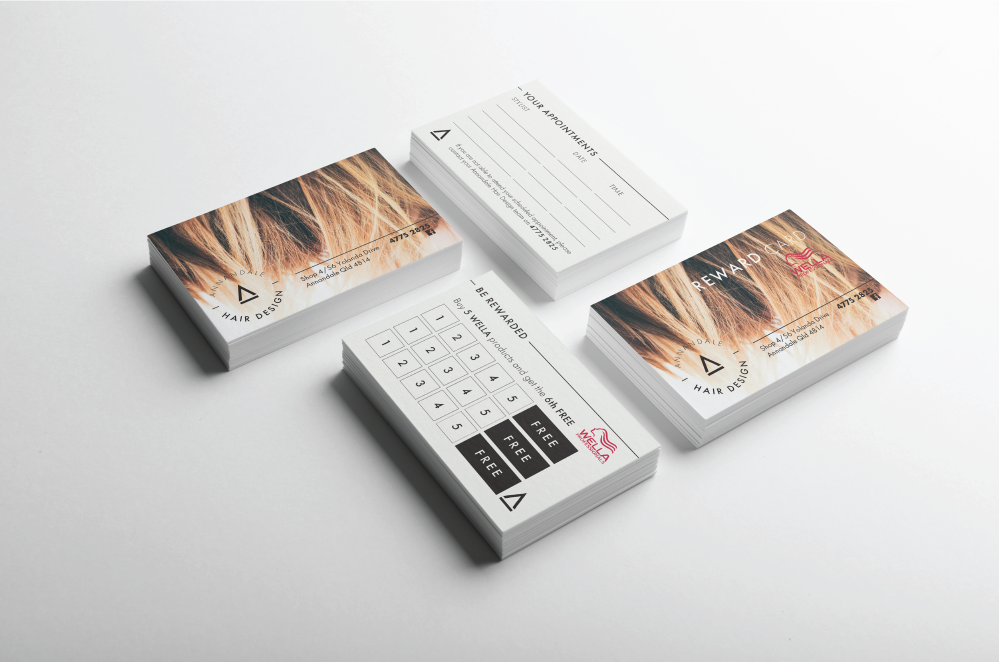 Annandale Hair Design Cards