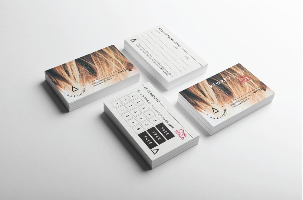 Annandale Hair Design Cards