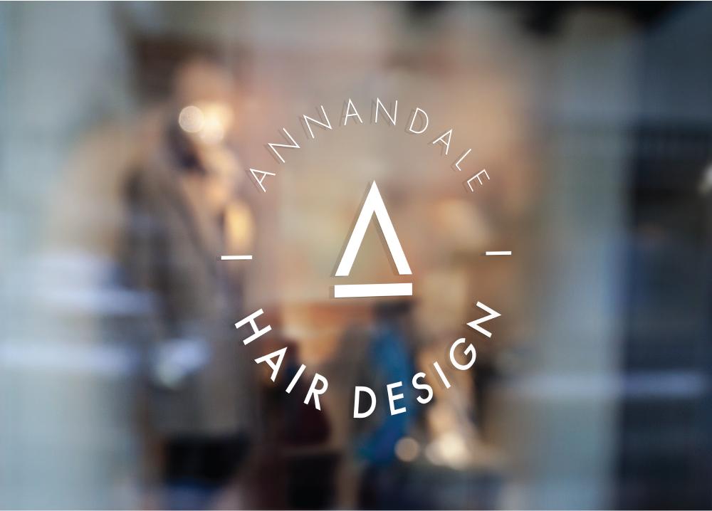 Annandale Hair Design Door Logo