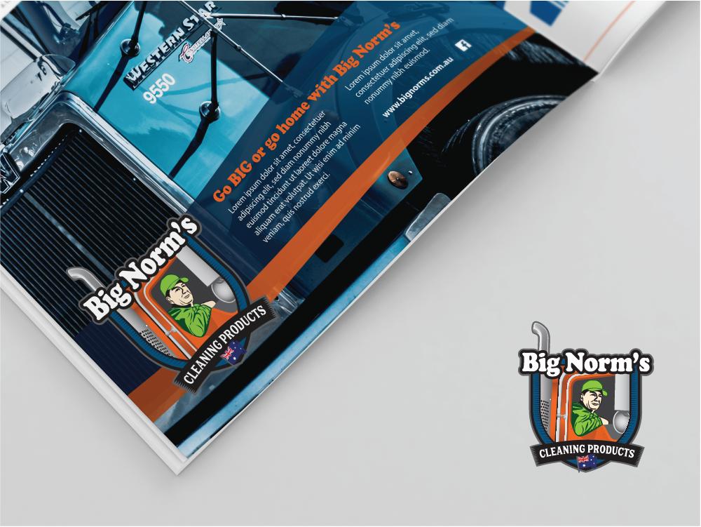 Big Norm's magazine mockup