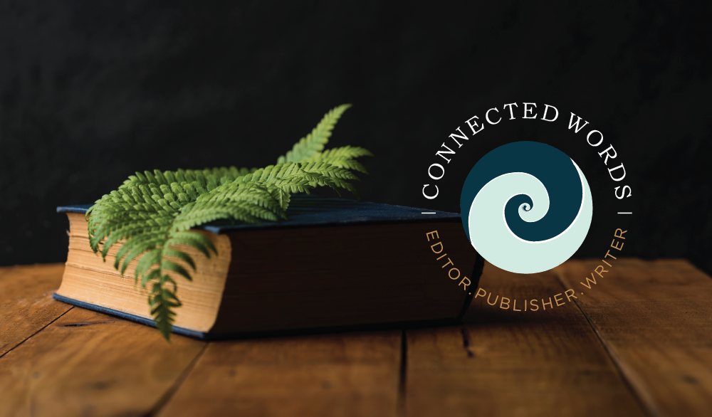 Connected Words secondary logo