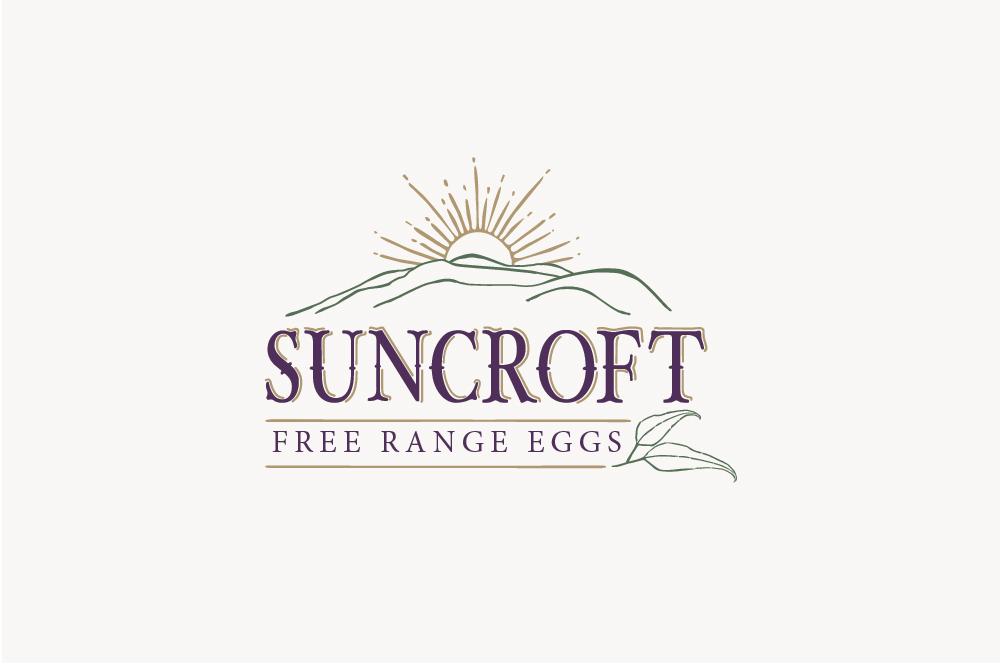 Suncroft Free Range Eggs Logo
