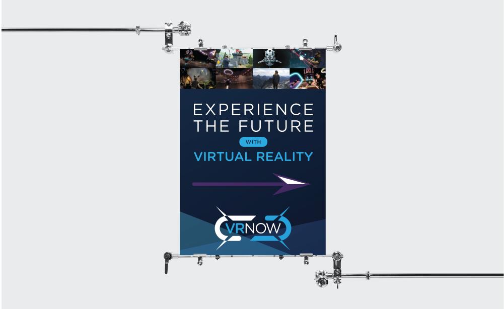 VRNow a-frame poster