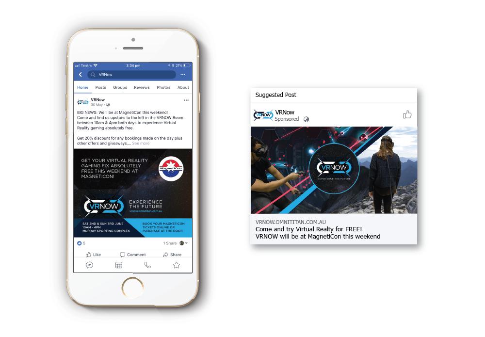 VRNow Facebook Ads