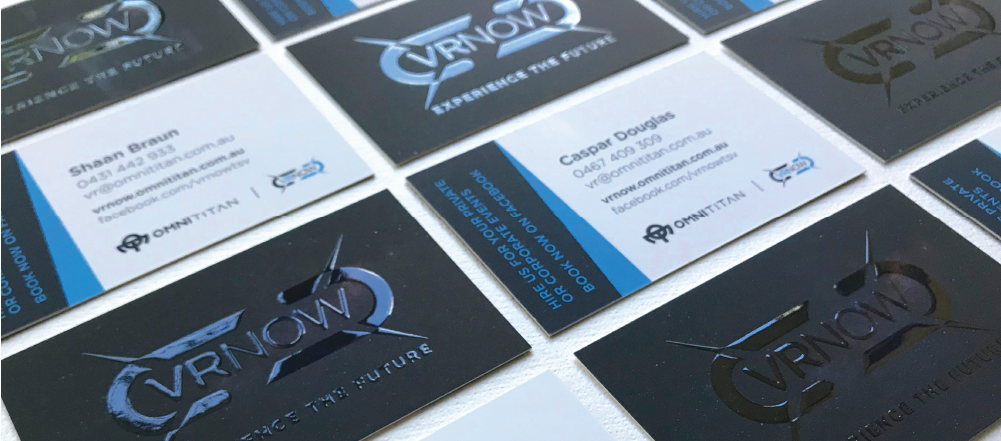 VRNow Business Cards